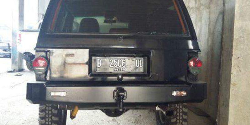 Bumper Belakang Jeep full