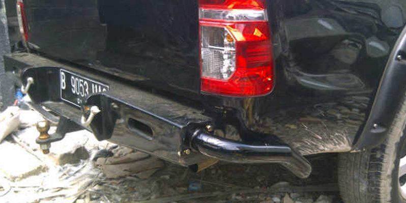 Bumper Belakang Pipa Samping Toyota full