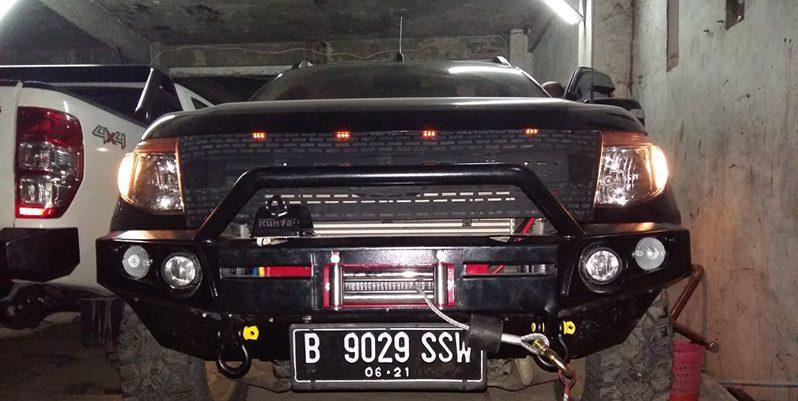 Bumper Depan+Winch Ford full