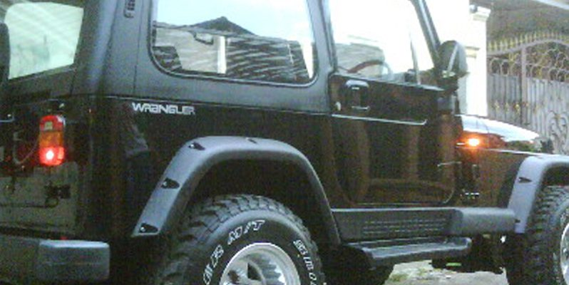 Over Fender Jeep full
