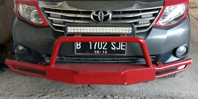 Bumper Depan Overland Toyota full