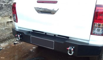 Bumper Belakang + Shackle Hilux full
