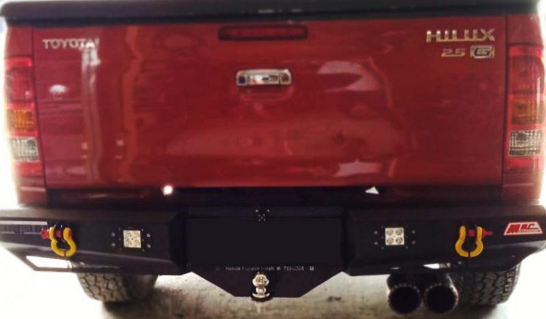 Bumper Belakang + LED & Shackle Hilux full