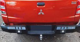 Bumper Belakang Rocker + LED Mitsubishi